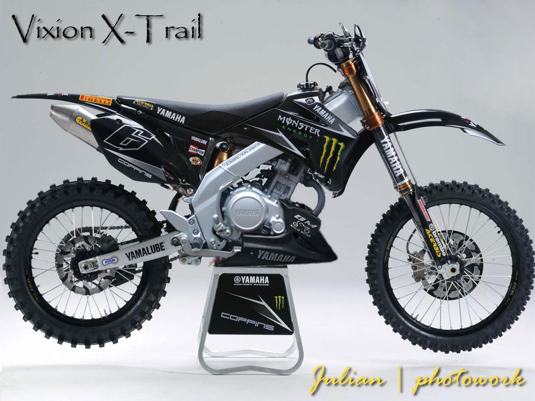 Yamaha Vixion Modif Trail