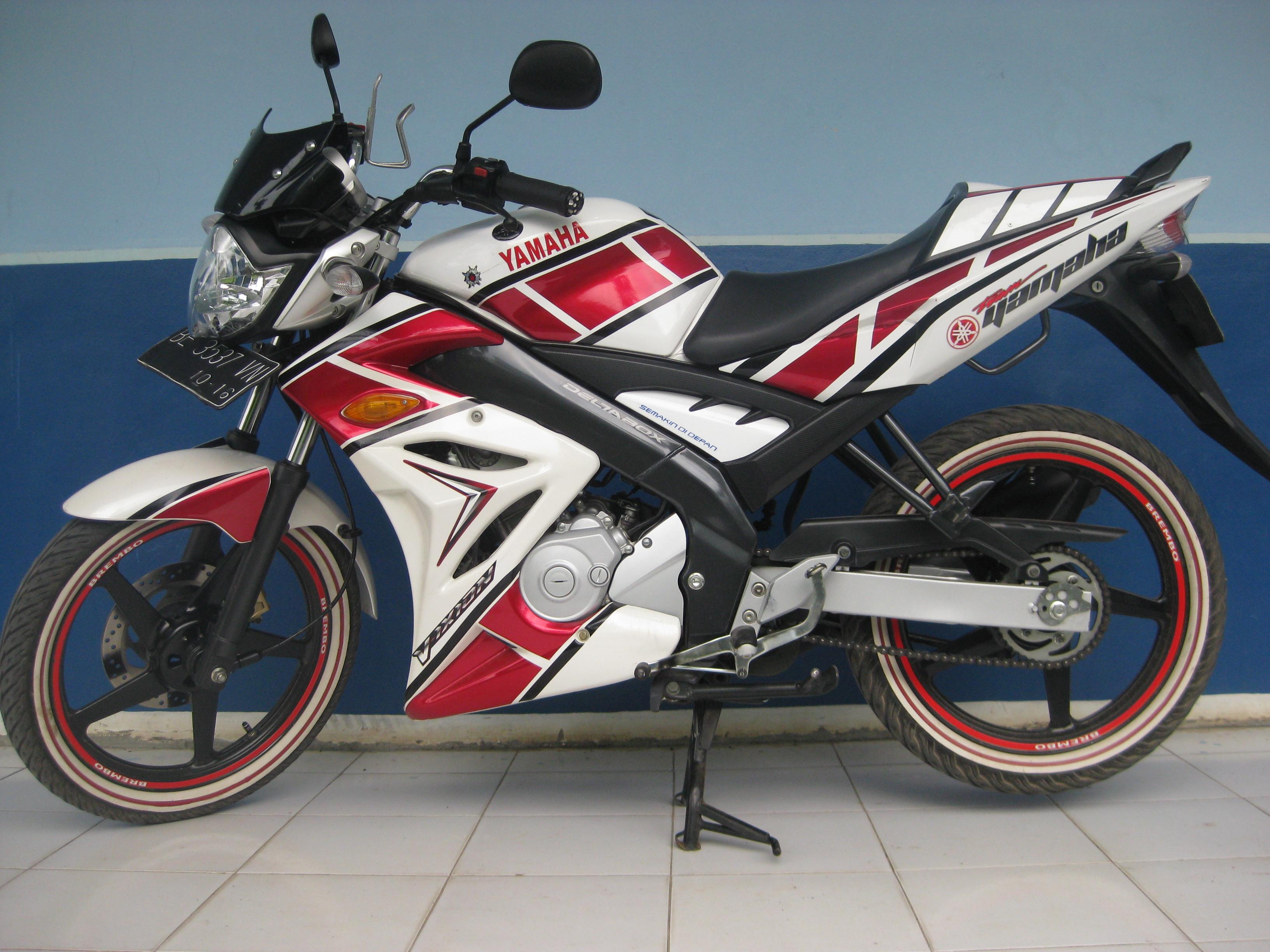 Modifikasi Yamaha Vixion Velg Tapak Lebar   Cara Modifikasi Motor