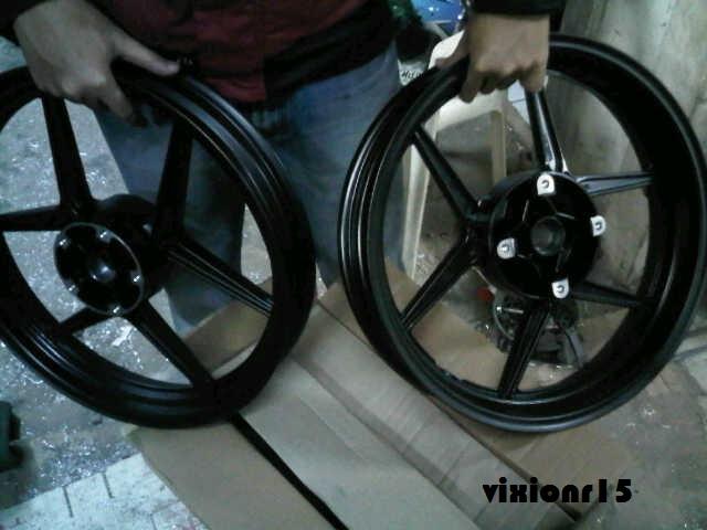Daftar Harga Modifikasi Motor Yamaha Vixion