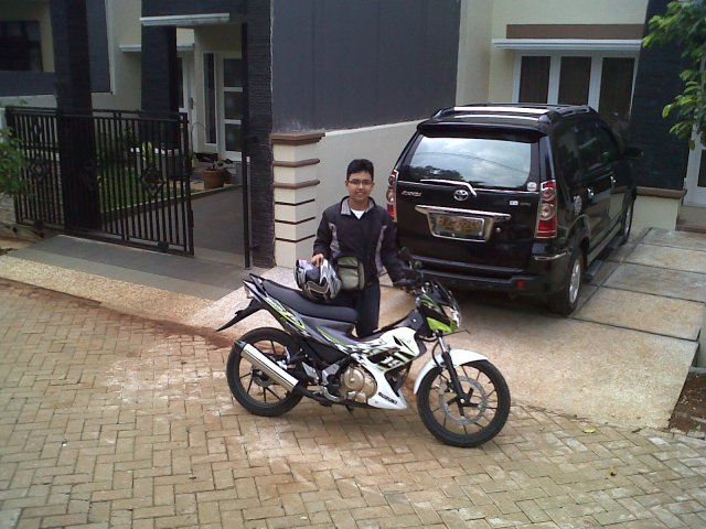 my brother @ satria FU